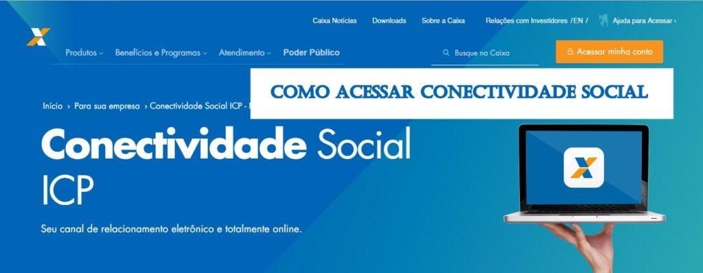 acessar Conectividade Social