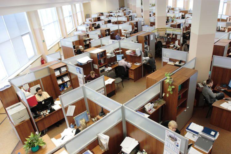 Quantidade de funcionários
